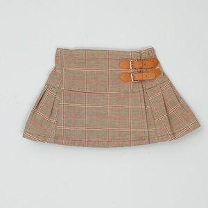 EUC, Baby Gap Plaid Pleated Skirt Sz. 12-18M